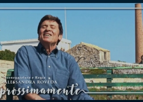 Gianni Morandi a Carloforte per la Fiction l'Isola di Pietro